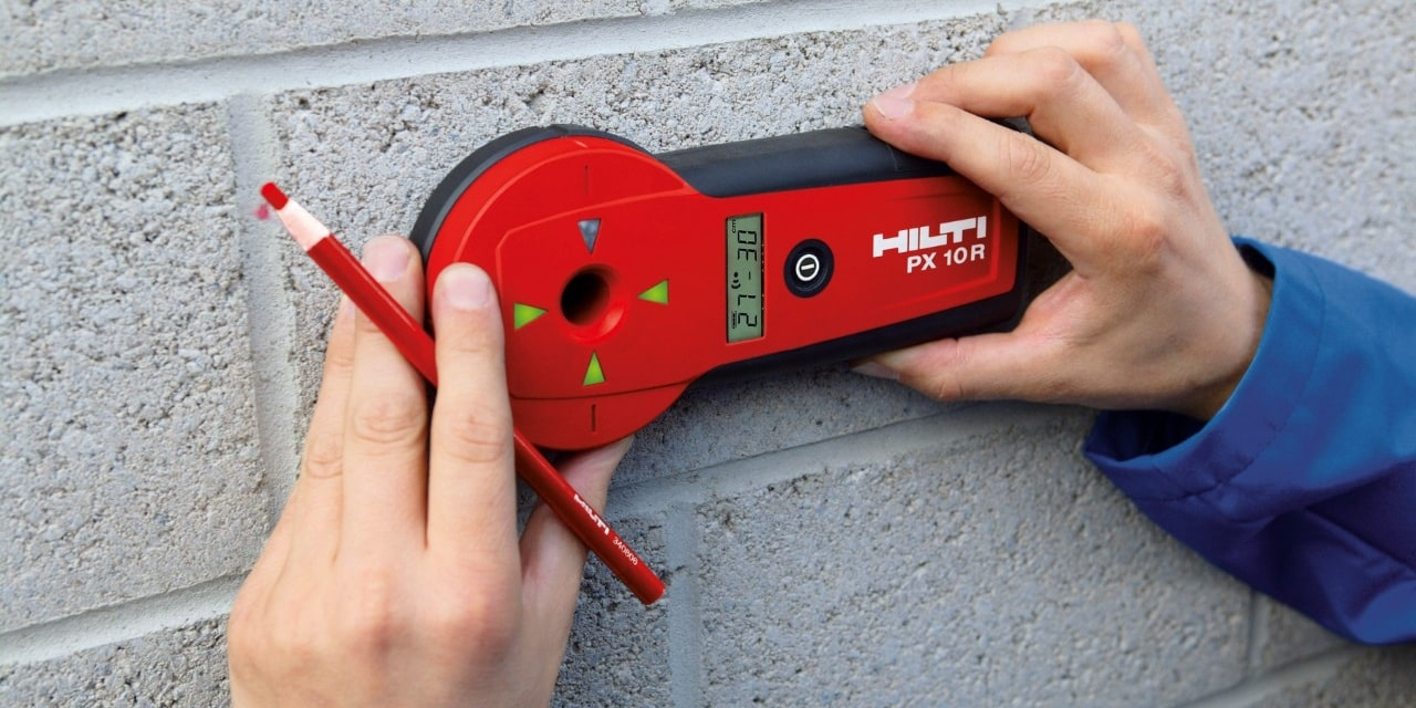 Hilti PX 10 Transpointer detection system