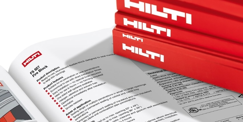 Hilti reference