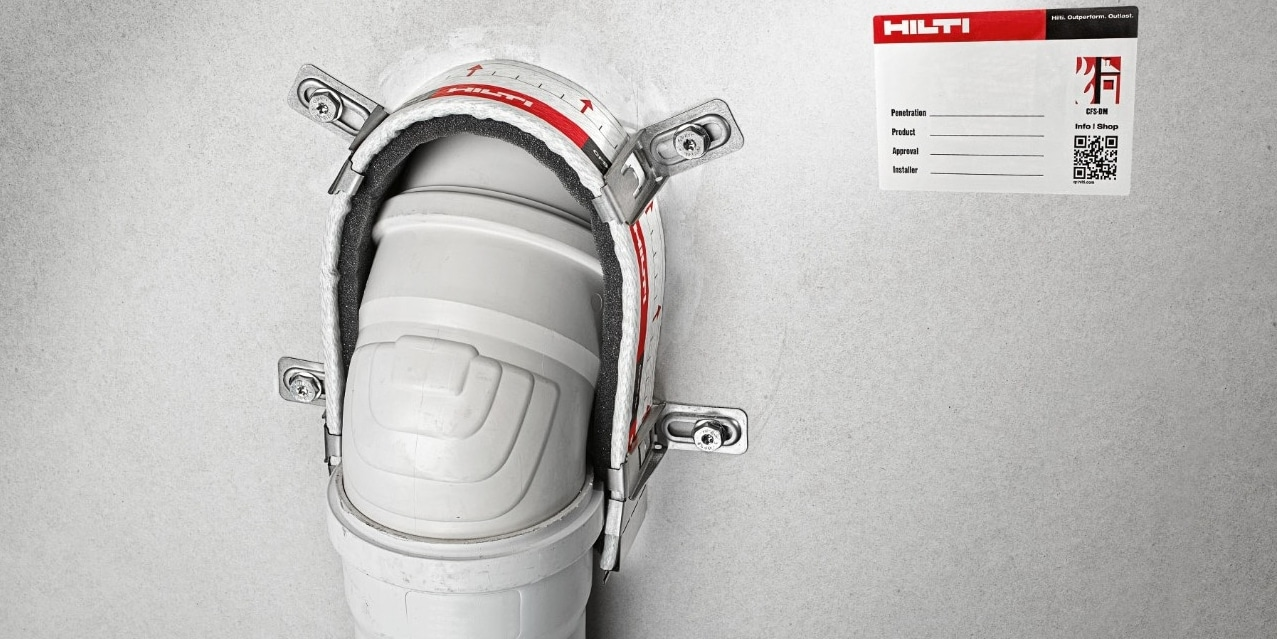Hilti firestop collars