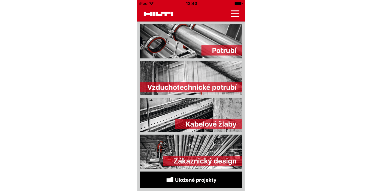 Hilti Channel Calculator app